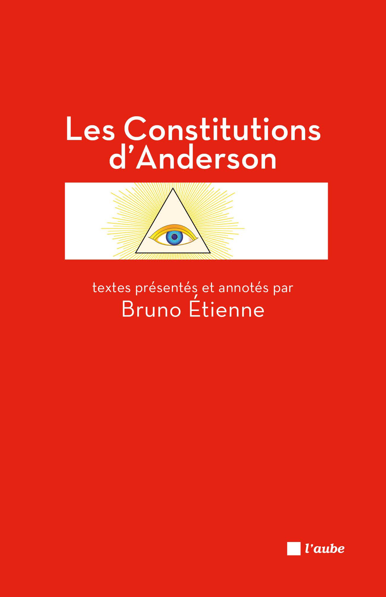 Les Constitutions d'Anderson