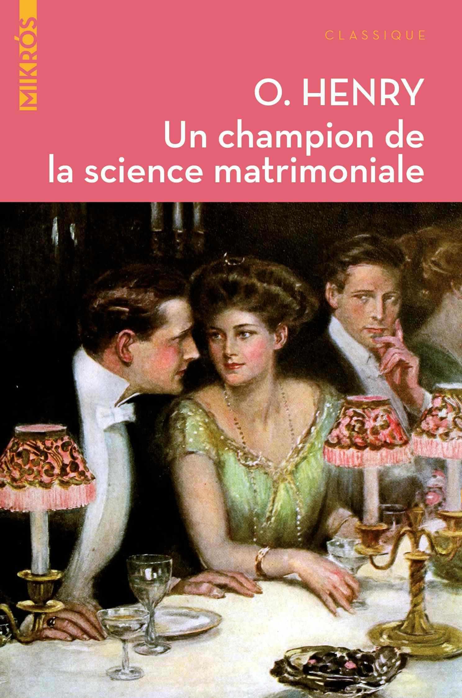 Un champion de la science matrimoniale